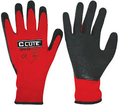 Guantes anticorte C CUTE rojos