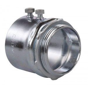 Conector de tubería galvanizado