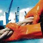 Guantes De PVC Recubiertos Antideslizantes (Importado)