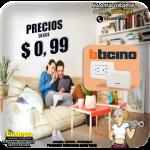 PRECIOS DESDE 0,99$ EN PRODUCTOS BTICINO